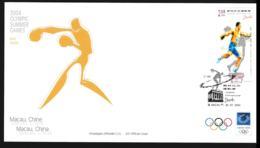 Macau FDC 2004 Athens Olympic Games (NB**LAR9-156) - Summer 2004: Athens