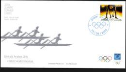 Dubai FDC 2004 Athens Olympic Games (NB**LAR9-156) - Summer 2004: Athens