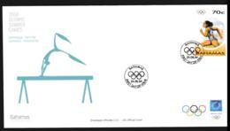 Bahamas FDC 2004 Athens Olympic Games (NB**LAR9-156) - Summer 2004: Athens
