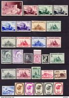 BELGIQUE, ANNEE 1938, 32 VALEURS Et 2 BLOCS, ** MNH. (LOT369) - Belgium