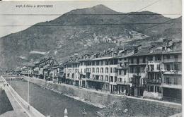 Moutiers -  L'Isère à Moutiers - Moutiers