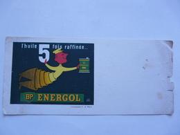 VIEUX PAPIERS - BUVARD : BP ENERGOL - Agricultura