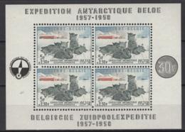 1957. BL31 **, MNH. Cote COB 2020 :  180 € - Blocks & Sheetlets 1924-1960