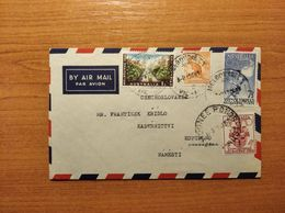 EX-PR-20-07-93 AVIA LETTER FROM AUSTRALIA TO CZECHOSLOVAKIA. 16 OLIMPIC GAMES. - Covers & Documents