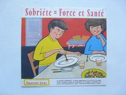 VIEUX PAPIERS - BUVARD : SOBRIETE - Lebensmittel
