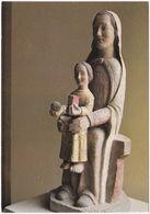 77. Gf. Abbaye De FAREMOUTIERS. Vierge Roman-Auvergnat. 39-1225 - Faremoutiers