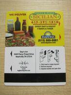 Days Inn(Hotel Grafix), Sicilian Pizza & Pasta - Cartas De Hotels