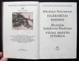 Lithuanian Book / Nekrasovas, Saltykovas Ščedrinas 1989 - Libros, Revistas, Cómics