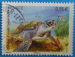France 2014  : Tortue Verte (Chelonia Mydas) N° 4903 Oblitéré - Oblitérés