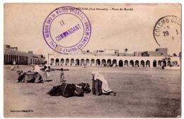 7432 - Colomb-Béchar ( Algérie ) - Place Du Marché - Coll. Idéale P.S. - - Bechar (Colomb Béchar)