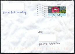 (1986) Bund ATM Briefkasten, Bedarfsbrief Aus 2020 Mit ATM OHNE WERTEINDRUCK ! - Automatenmarken