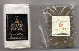 SAVONNETTES -   PETITS SAVONS   INDE -    SOAP RAJ NIWAS PALACE   +   SOAP PLUTO S - Beauty Products