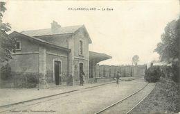 95 VALLANGOUJARD - La Gare - Andere Gemeenten