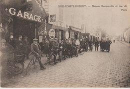 77 BRIE COMTE ROBERT (garage BACQUEVILLE  RUE DE PARIS ) - Brie Comte Robert