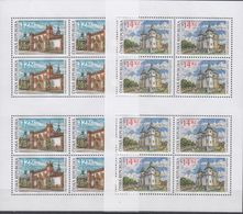 +Q1357. Czech Republic 2004. Tourism. 2 Sheetlets. Michel 400-401. MNH(**) - Blokken & Velletjes