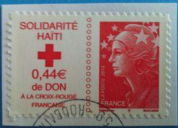France 2010  : Solidarité Haïti N° 388 Oblitéré - Frankreich