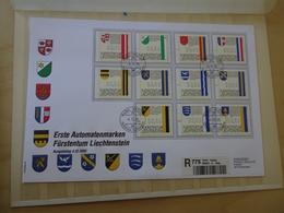 Liechtenstein ATM 1-11 FDC (15070) - FDC