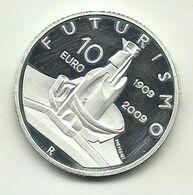 2009 - Italia 10 Euro Futurismo - Senza Confezione - Italie