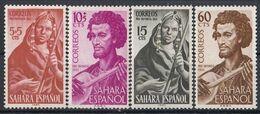 SPANISH SAHARA 135-138,unused - Sahara Espagnol