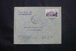 RÉUNION - Enveloppe Commerciale De St Denis Pour Paris En 1952 - L 65811 - Cartas