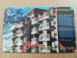 DOMINICA   GPT $ 20,-   WESLEAN APARTEL           DOM-11D    11CDMD    Fine Used Card  ** 2815** - Dominica