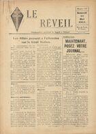 GUERRE 39/45 . LE REVEIL .RESISTANCE A DJIBOUTI .8 PAGES Sans Supplément .N° 113 - Historische Dokumente