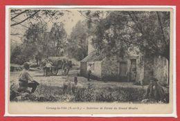 78 - CERNAY La VILLE --  Intérieur De Ferme Du Grand Moulin - Cernay-la-Ville