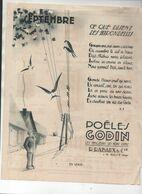 Guise (02 Aisne)  Publicité Poêles  GODIN  (CAT 1897) - Publicités