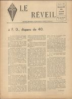 GUERRE 39/45 . LE REVEIL .RESISTANCE A DJIBOUTI .8 PAGES Sans Supplément .N° 101 - Historische Dokumente