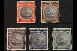 1930 Tercentenary Of Colony Set, SG 126/30, Fine Mint (5) For More Images, Please Visit Http://www.sandafayre.com/itemde - Bahamas (...-1973)