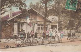 94 .CHAMPIGNY ( La Cote Rendez Vous Des Cyclistes ) CARTE COLORISEE - Champigny Sur Marne