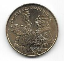 Médaille Touristique, Ville, Monnaie De Paris  2007, GROTTE  DES  DEMOISELLES, Saint-Bauzille-de-Putois  ( 34 ) - Monnaie De Paris