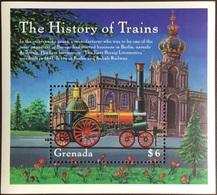 Grenada 2000 History Of Trains Minisheet MNH - Grenada (1974-...)
