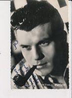 Autographe De Henri Vidal, Acteur - Très Bon état - Autografi
