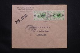 RÉUNION - Enveloppe Commerciale De Saint Denis Pour La France Par Avion , Affranchissement Surchargés  - L 65818 - Cartas