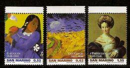 "(Fb).San Marino.2003.""Grandi Maestri Della Pittura"".Serie 3 Valori Nuovi,integri (133-20) - Ungebraucht"