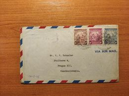 EX-PR-20-07-100 AVIA  LETTER FROM BARBADOS TO CZECHOSLOVAKIA. - Barbados (...-1966)