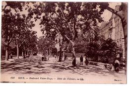 7437 - Nice ( 06 ) - Boulevard Victor-Hugo ( Hotel Des Palmiers ) - L.L. N°193 - - Cafés, Hoteles, Restaurantes