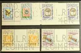 1990 POSTAL CENTENARY - DLR SPECIMENS Centenary Of Postage Stamps In Kenya Set (SG 547/51) In Never Hinged Mint Gutter P - Kenia (1963-...)