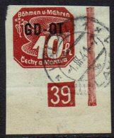 Böhmen-Mähren 1939, MiNr 51, Gestempelt - Used Stamps