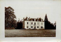 Orvault * Le Château De La Cholière * Archive Photographe éditeur F. CHAPEAU * Photo Albuminée Vers 1900 - Orvault
