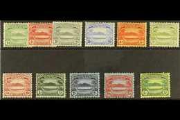 1908 Set Complete, SG 8/17, Mint Lightly Hinged (11 Stamps) For More Images, Please Visit Http://www.sandafayre.com/item - British Solomon Islands (...-1978)