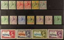 1913-1951 FINE MINT All Different Collection. With KGV Definitives Range To 2s6d, 1935 Jubilee Set, Plus A KGVI Complete - British Solomon Islands (...-1978)