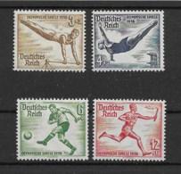 Deutsches Reich 1936 Olympia Mi.Nr. 609/10/11/13 ** - Allemagne
