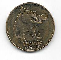 Médaille Touristique, Ville, Monnaie De Paris  2015, Animal  Woinic  Le  Colosse  Des  ARDENNES  ( 08 ) - 2015