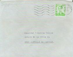 1490. JEMEPPE Sur MEUSE - Brief.enveloppe - Obp.nr. 1068 Marchand - 1953-1972 Glasses