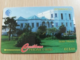 DOMINICA   GPT $ 40,-    STATE HOUSE        DOM-119D   119CDMD   Fine Used  Card  ** 2828** - Dominica