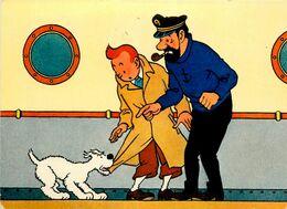 Les Aventures De TINTIN * Par Hergé * N°5 * édieur Yvon - Comicfiguren