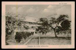 SÃO TOMÉ E PRÍNCIPE - Estação Do Cabo Submarino.  ( Ed. M. Lopes) Carte Postale - São Tomé Und Príncipe