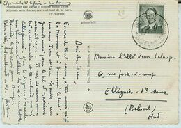 1490. DE PANNE Kosteloze Baden/bains Gratuis - Pk/Cp - Obp.nr. 924 Type Marchand - Postmark Collection